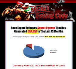 secret betting code Who Say's We Can't Have A Personal Betting Calculator