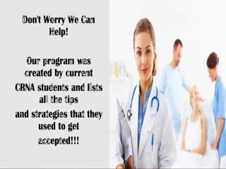 3Wrs35BfobLySJFp2DJj Who Says We Cant Get Into CRNA Schools?