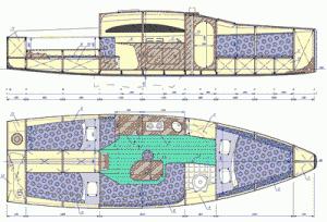 Sail boat hull 300x204 Who Says We Cant Make Boats At Home?