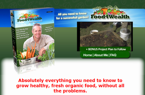 food 4 wealth 1 Who Says We Cant Have Our Own Ecological Garden?