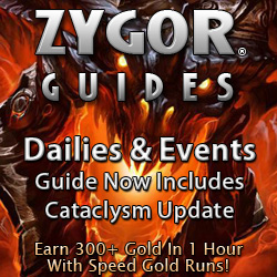 zygorguides Who Says We Cant Get on Top of Our Game Using Only Zygor Guide