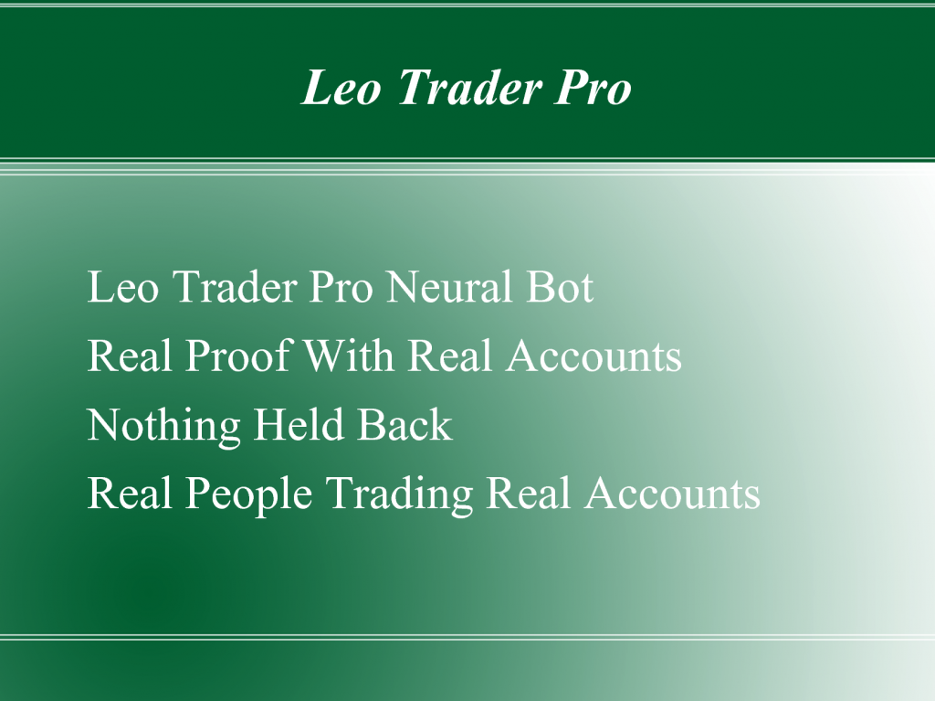 65877628 1024x767 Who Says We Cant Access Real Time Investors Account With The Leo Trader Pro?