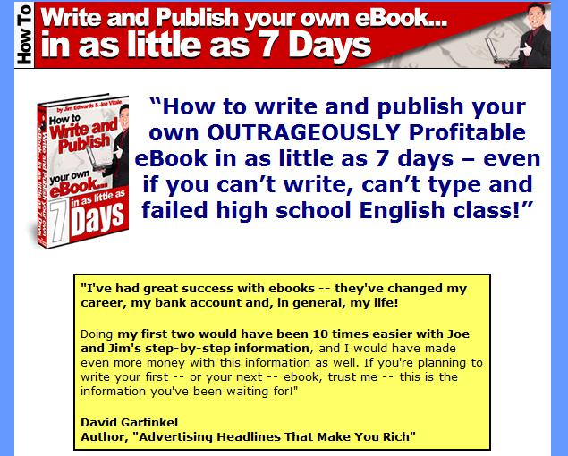 7dayebook Who Says We Cant Produce eBook from Scratch?