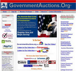 governmentauctions website Who Says We Cant Get Better Deals From the Government?
