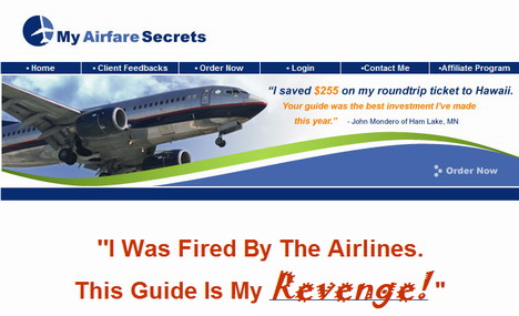 my airfare secrets 1 Who Says We Cant Cut The Cost of Airfares?